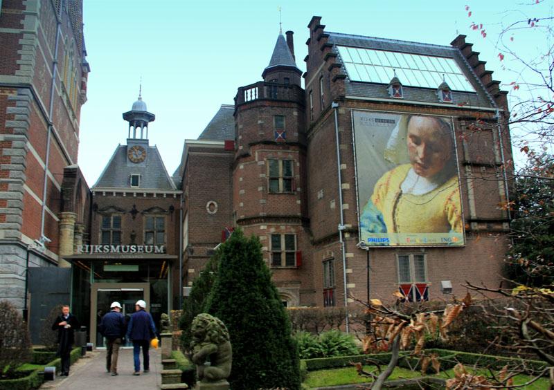 Рийксмузеум в Амстердаме / Фото из Нидерландов