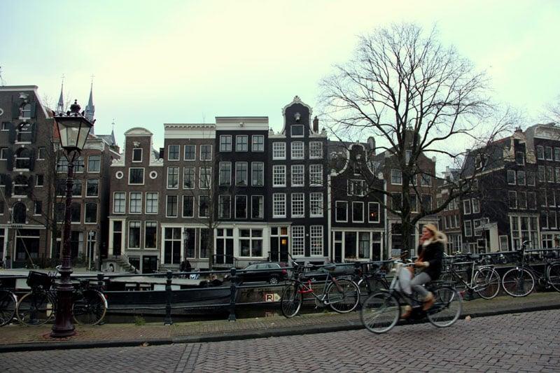 Улица Амстердама / Фото из Нидерландов