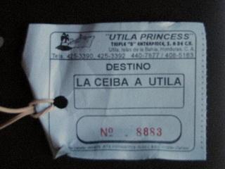 Билет / Гондурас