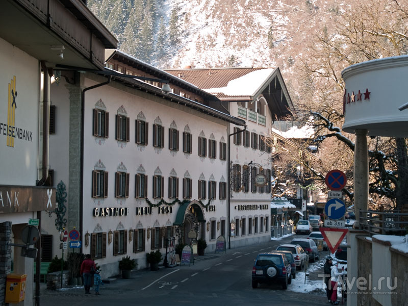 Gasthot Neue Post - хорошая гостиница и великолепный ресторан / Фото из Австрии