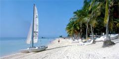 Один из самых протяженных и красивых пляжей на Кубе находится на севере провинции Camaguey, около самого большого...