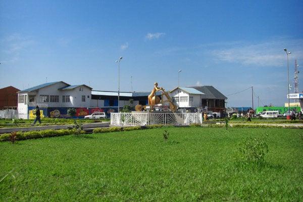 Вид города Гома, Конго / Фото из Конго (бывш. Заир)