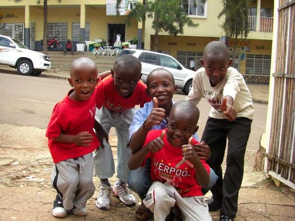 Африканские дети / Фото из Конго (бывш. Заир)