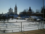 Вид с террасы гостевого дома / Россия