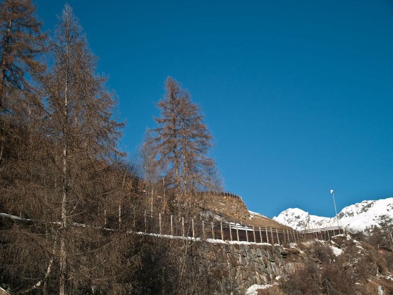Подъем на гору в Зёльдене / Фото из Австрии