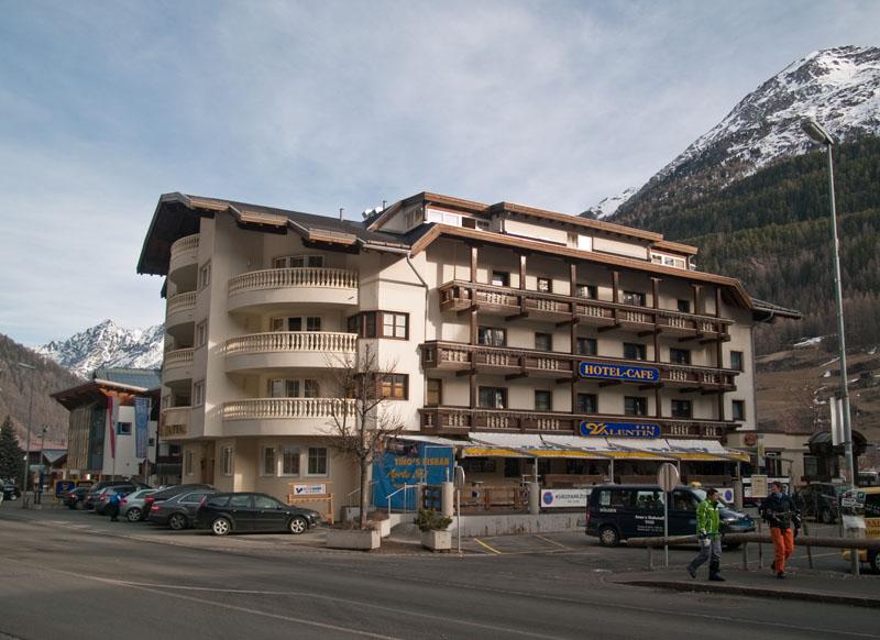 Отель Valentin в Зёльдене / Фото из Австрии
