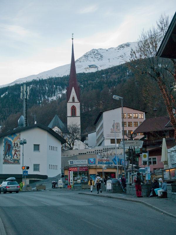 Центр Зёльдена / Фото из Австрии