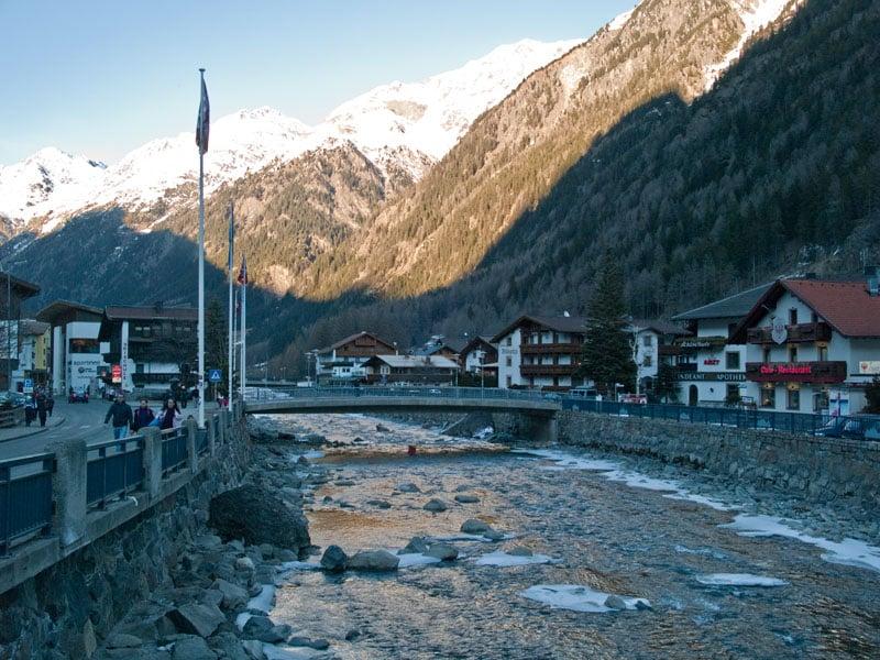 Горнолыжные курорты Зёльден и Обергургль - Хохгургль / Фото из Австрии