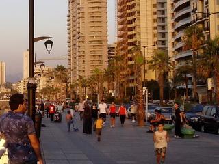 Набережная в Бейруте / Ливан