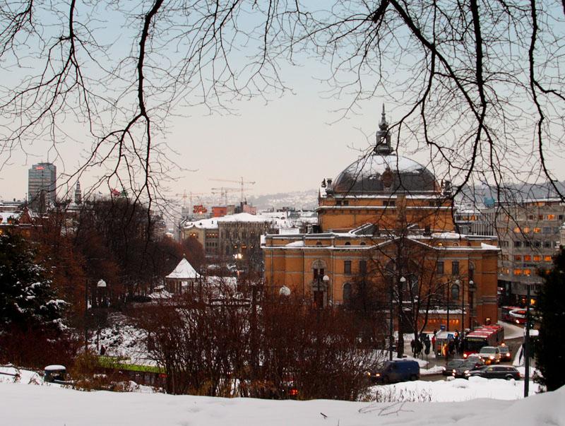 Вид на Осло, Норвегия / Фото из Норвегии