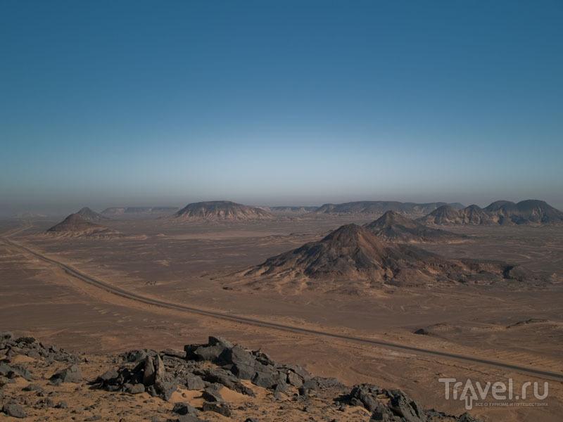 Черная пустыня во всей красе / Фото из Египта