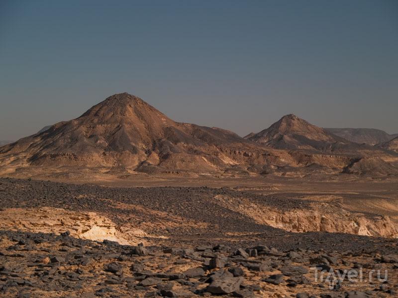 Горы Черной пустыни / Фото из Египта