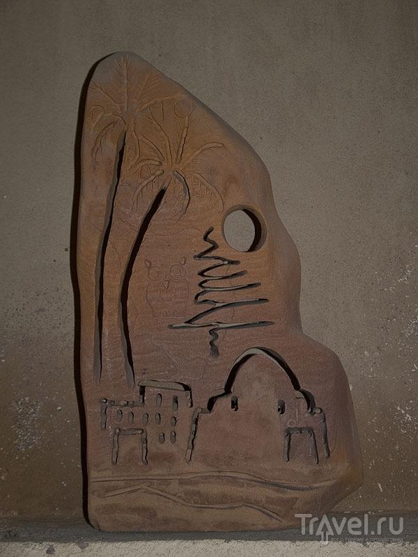 Деревянная скульптура, автор - Бадр / Фото из Египта