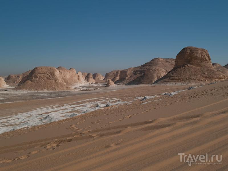 Меловые скалы в Белой пустыне / Фото из Египта