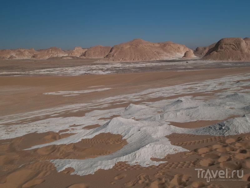 Виды Белой пустыни / Фото из Египта