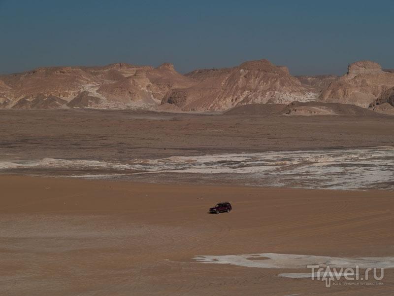 В Белой пустыне / Фото из Египта