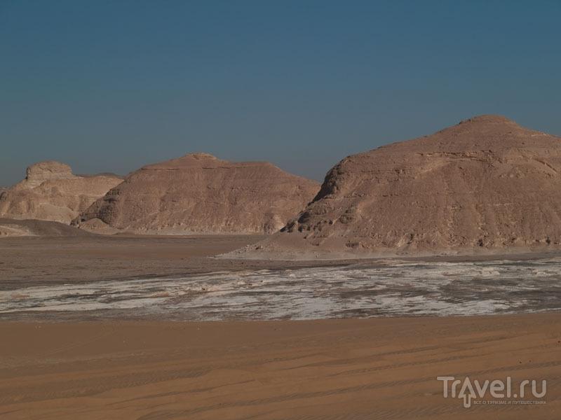 Пейзажи Белой пустыни / Фото из Египта