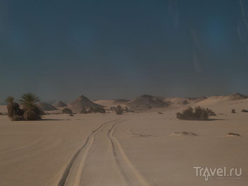 Дорога в пустыне, Египет / Фото из Египта