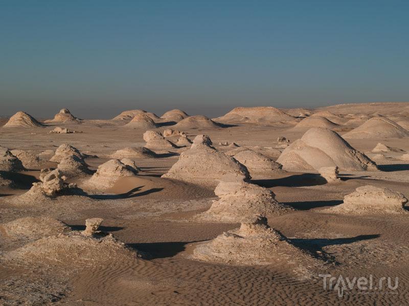 Известняковые образования в Белой пустыне / Фото из Египта