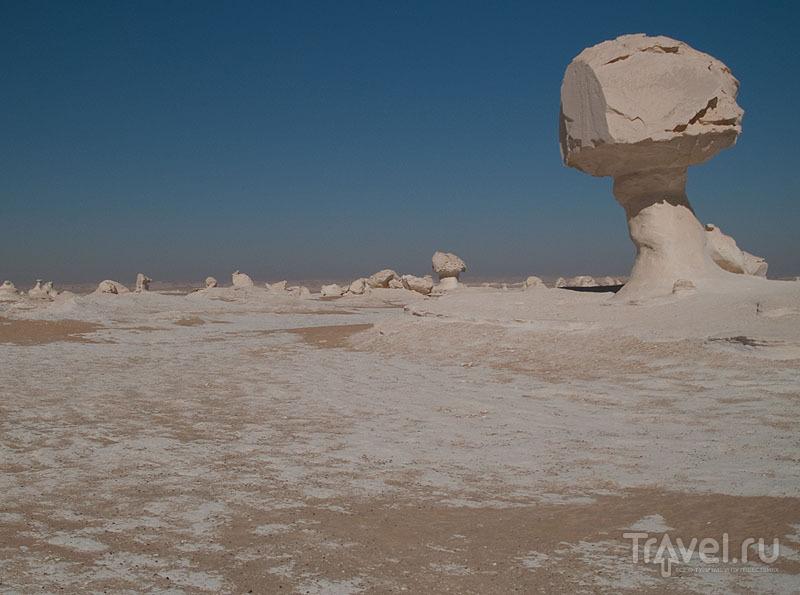 """""""Грибы"""" в Белой пустыне / Фото из Египта"""