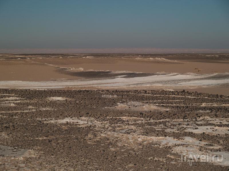 Дорога через Белую пустыню / Фото из Египта