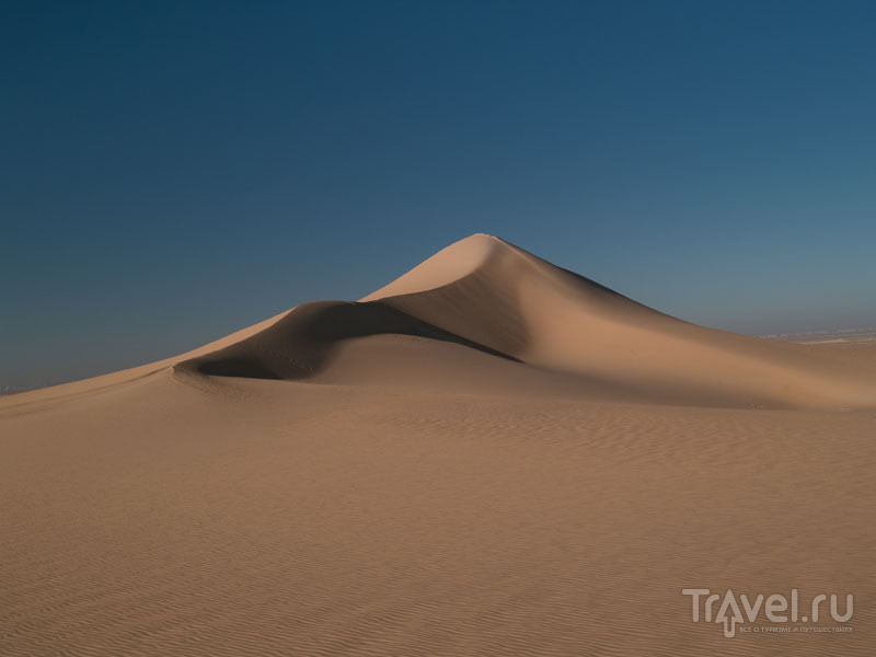 Дюна в пустыне, Египет / Фото из Египта