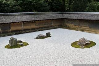 Группы камней - хаос / Япония