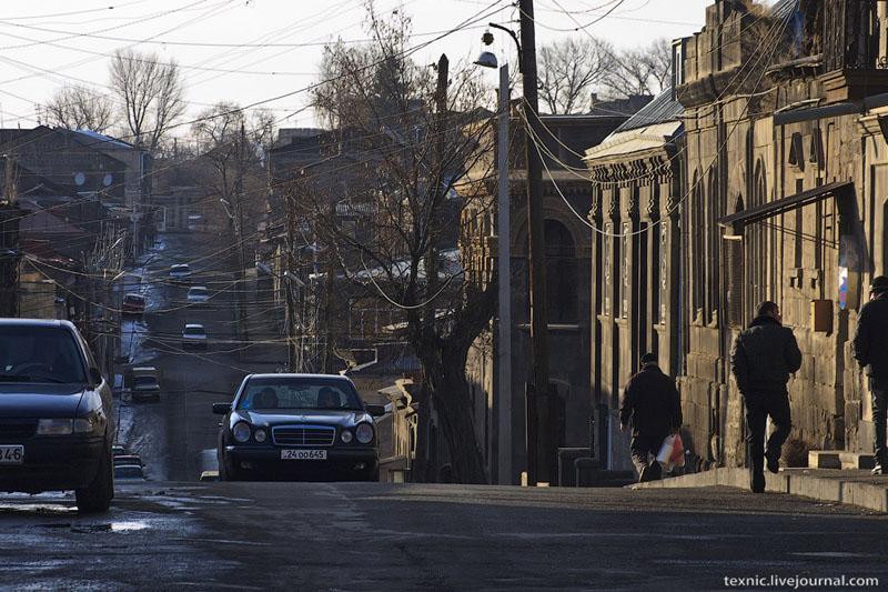 Улица в Гюмри / Фото из Армении