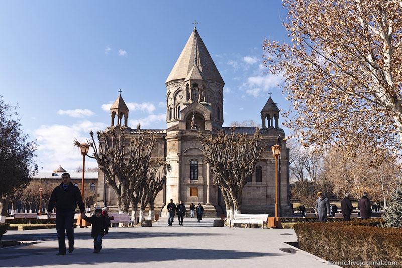 Кафедральный собор, Вагаршапат / Фото из Армении