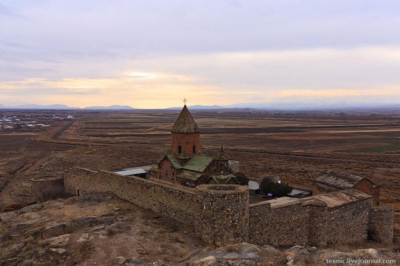Вид на Хор-Вирап / Фото из Армении
