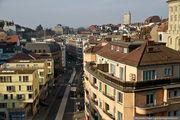 Вид с моста / Швейцария