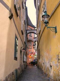 С узкими улочками / Австрия