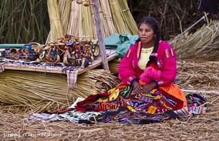 Продажа сувениров / Перу