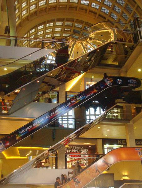 Интерьер шопинг-центра Abasto в Буэнос-Айресе / Фото из Аргентины