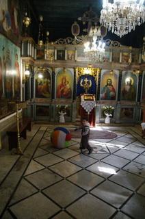 В храме бабушки христа / Израиль