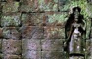 Остатки декорации / Камбоджа