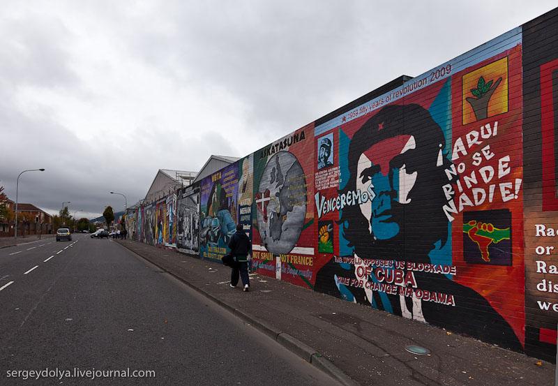 Настенные росписи в Белфасте / Фото из Ирландии