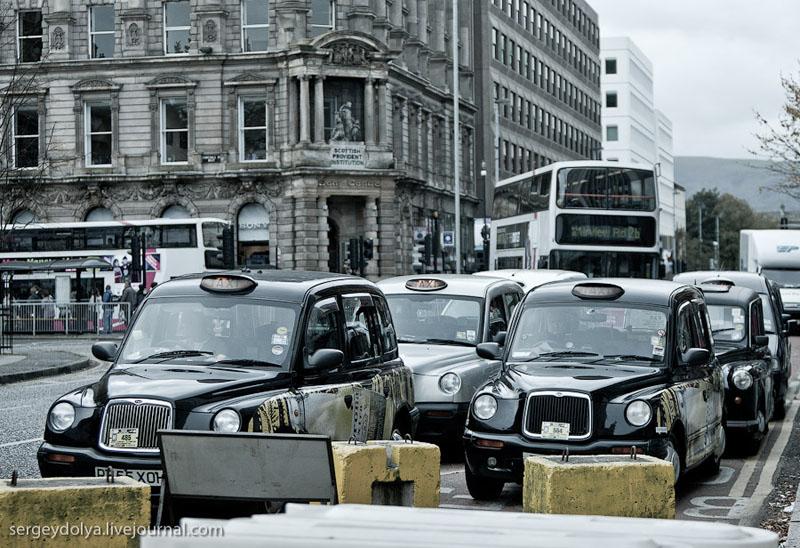 Такси в Белфасте / Фото из Ирландии