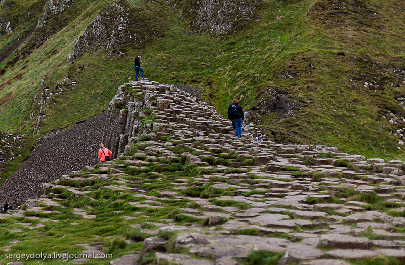 Прогулка по Тропе великанов в Ирландии / Фото из Ирландии