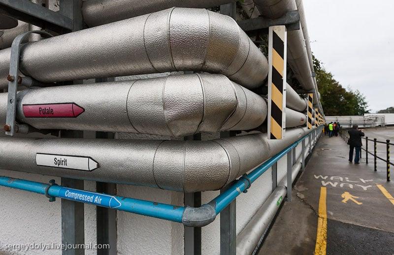 Оборудование вискокурни Bushmills, Ирландия / Фото из Ирландии