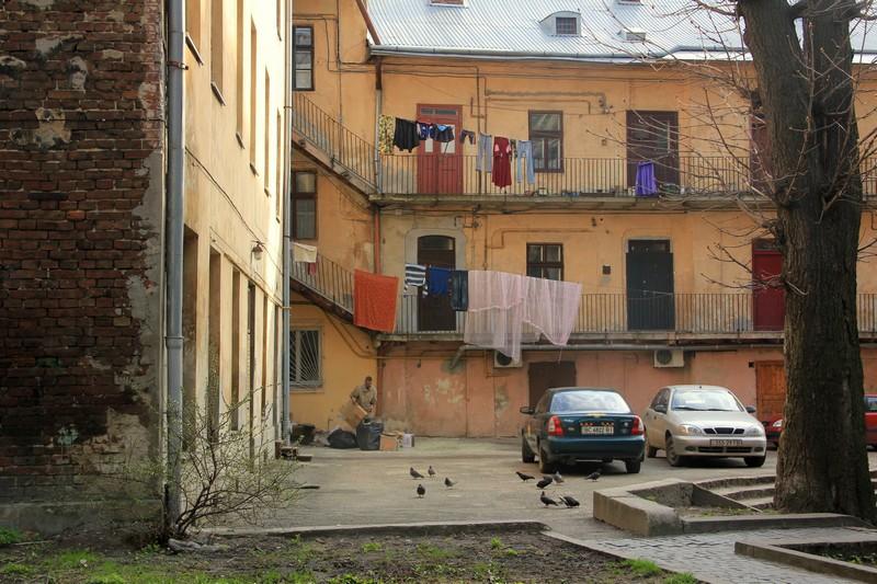Тихий уголок Львова / Фото с Украины