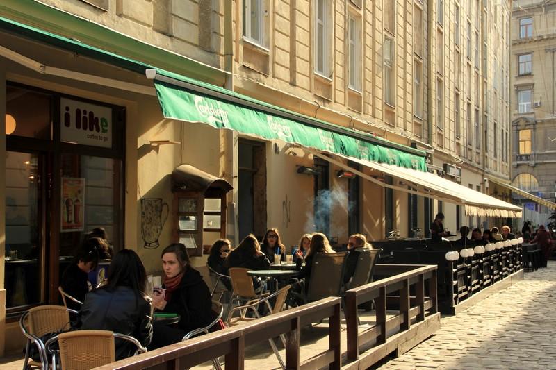 Кафе во Львове / Фото с Украины