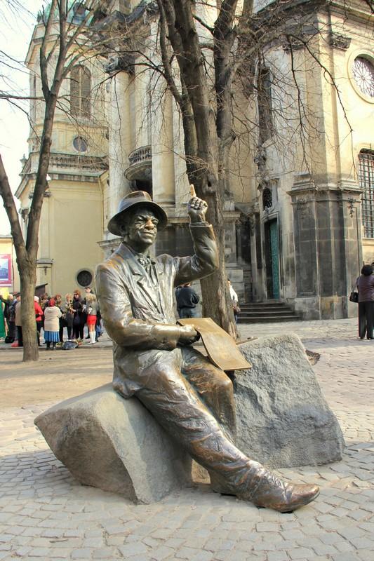 Памятник во Львове / Фото с Украины