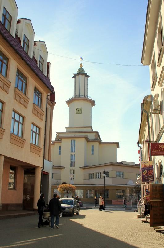 Архитектура Ивано-Франковска / Фото с Украины