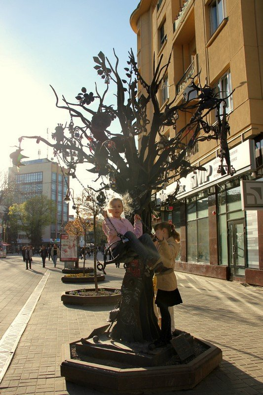 На улице Ивано-Франковска / Фото с Украины