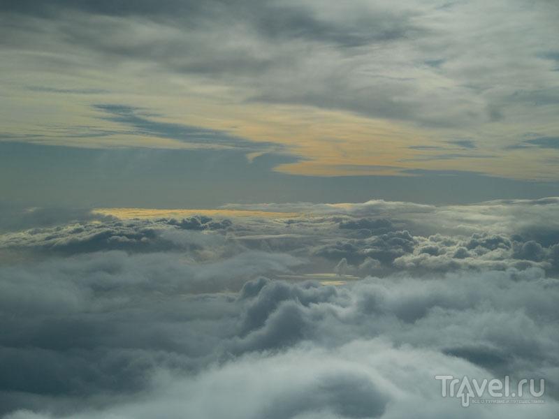Полет сквозь облака / Фото из Исландии