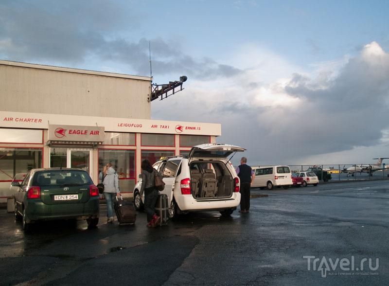 Терминал авиакомпании Eagle Air в аэропорту Рейкьявика / Фото из Исландии