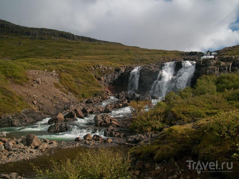 Водопад где-то в Западных фьордах Исландии / Фото из Исландии