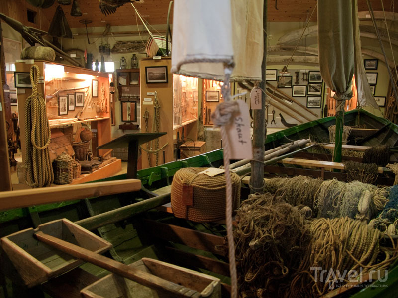 Морская экспозиция в музее Эйидля Олафссона / Фото из Исландии