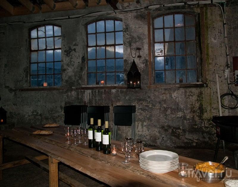 Ресторан в Patro House of Pirates, Патрикс-фьорд / Фото из Исландии